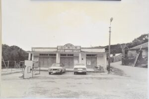 現存する貴重な建物。1960年代に建てられた旧富里公民館 / 南城市旧玉城村富里|おきなわアーカイブ