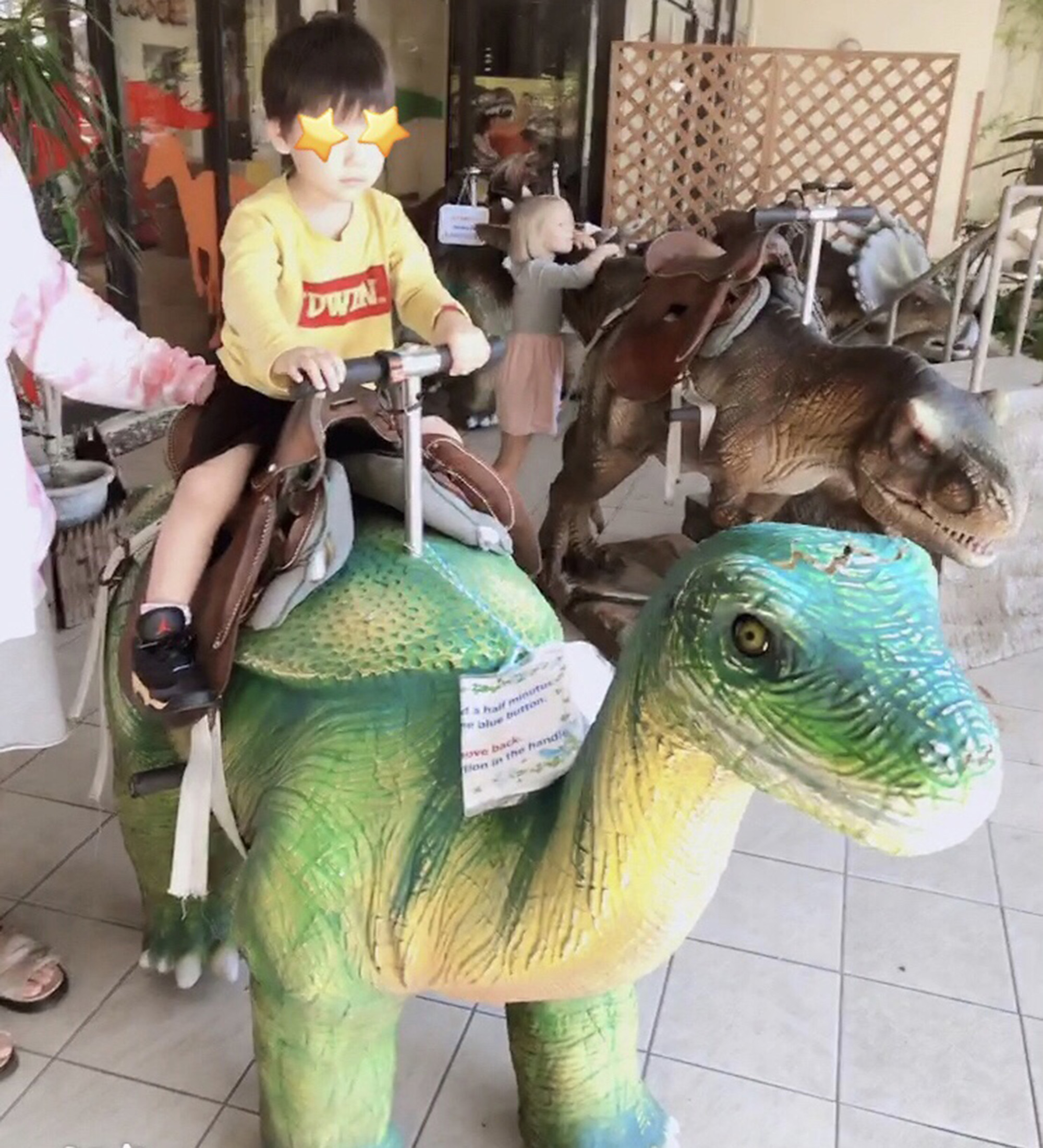 嘉数ゆりオススメ!やんばるに恐竜が!家族で楽しめる「DINO恐竜PARK やんばる亜熱帯の森」|名護市中山|嘉数ゆり Yuri's life