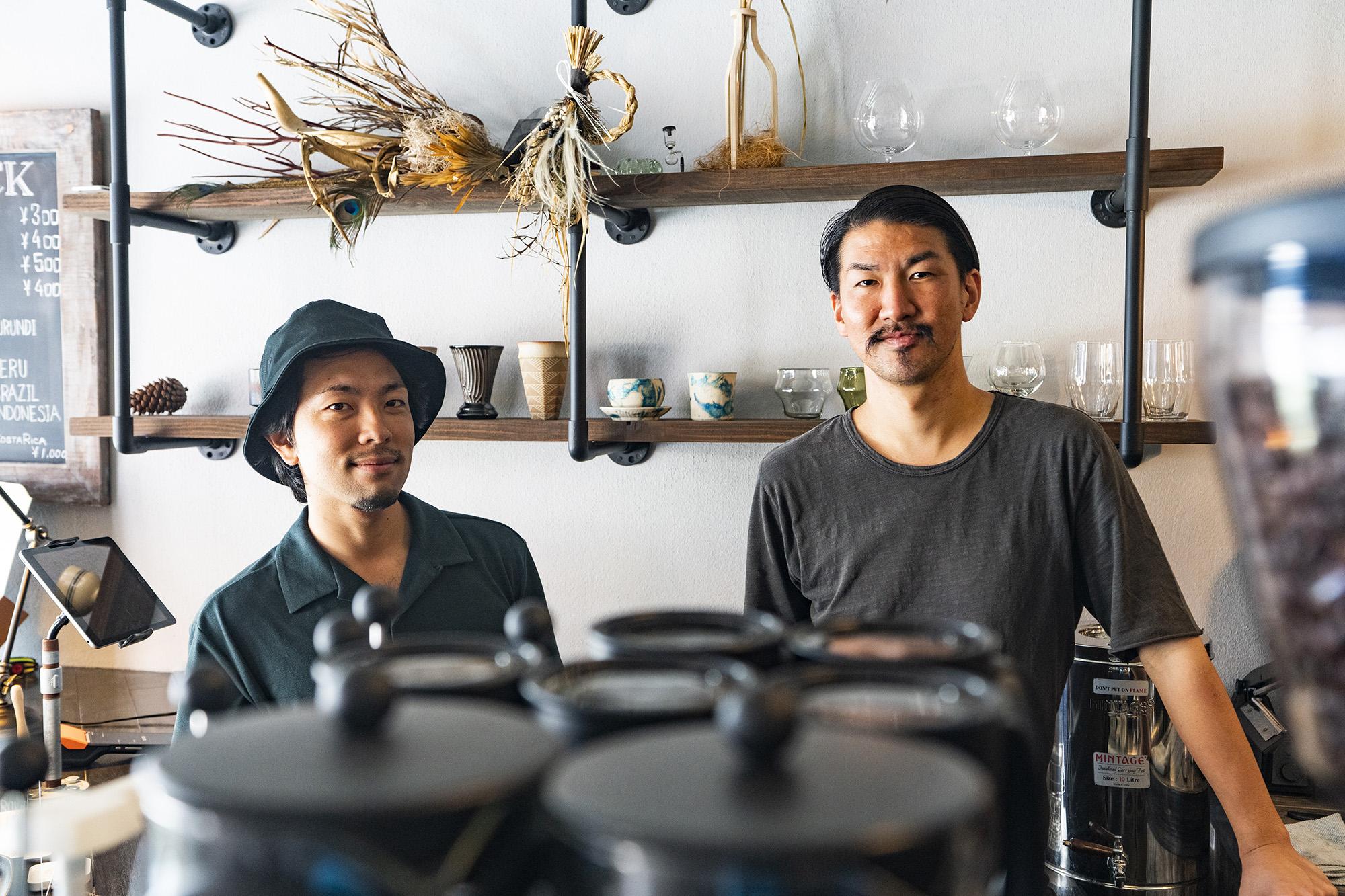 「rokkan COFFEE CREATORS」奥武拓也さん 石部宏幸さん / 那覇市桶川 与儀市場通り