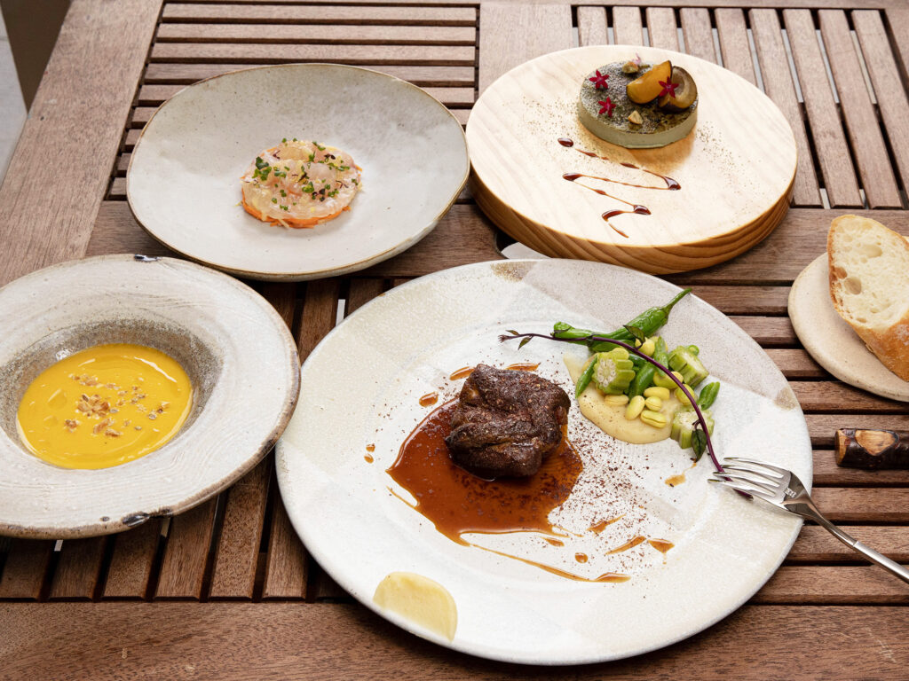島cuisine あーすん|那覇市金城にオープンした島野菜や県産素材を美味しくいただける一軒家レストラン|開店したってよー