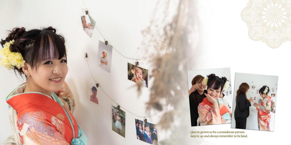 こんな時だからこそ、しっかり写真におさめませんか?ナチュラルテイストの『成人式前撮り撮影』|浦添市牧港 外国人住宅サロン/ CELEBRATIONS maki